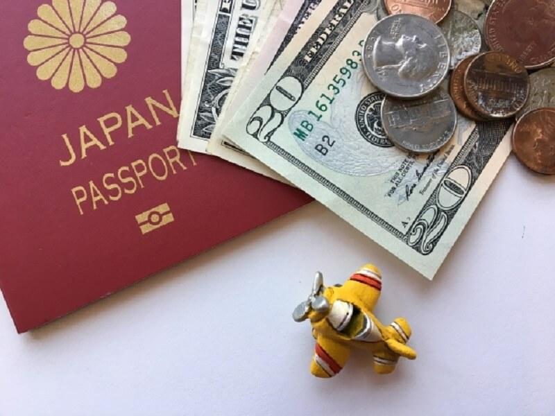 海外旅行で余った外貨の写真