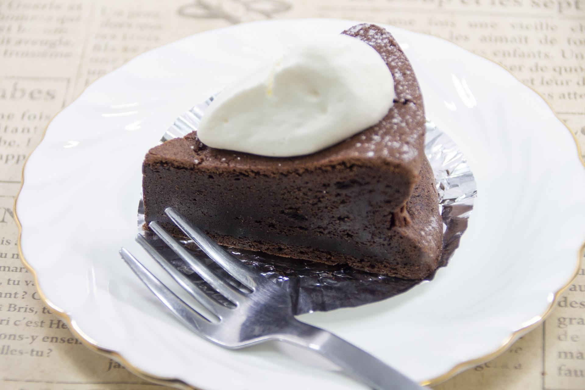 チョコケーキの写真