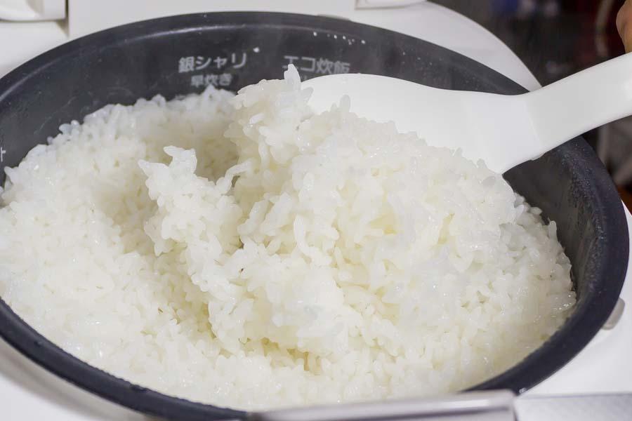 炊きたてのご飯