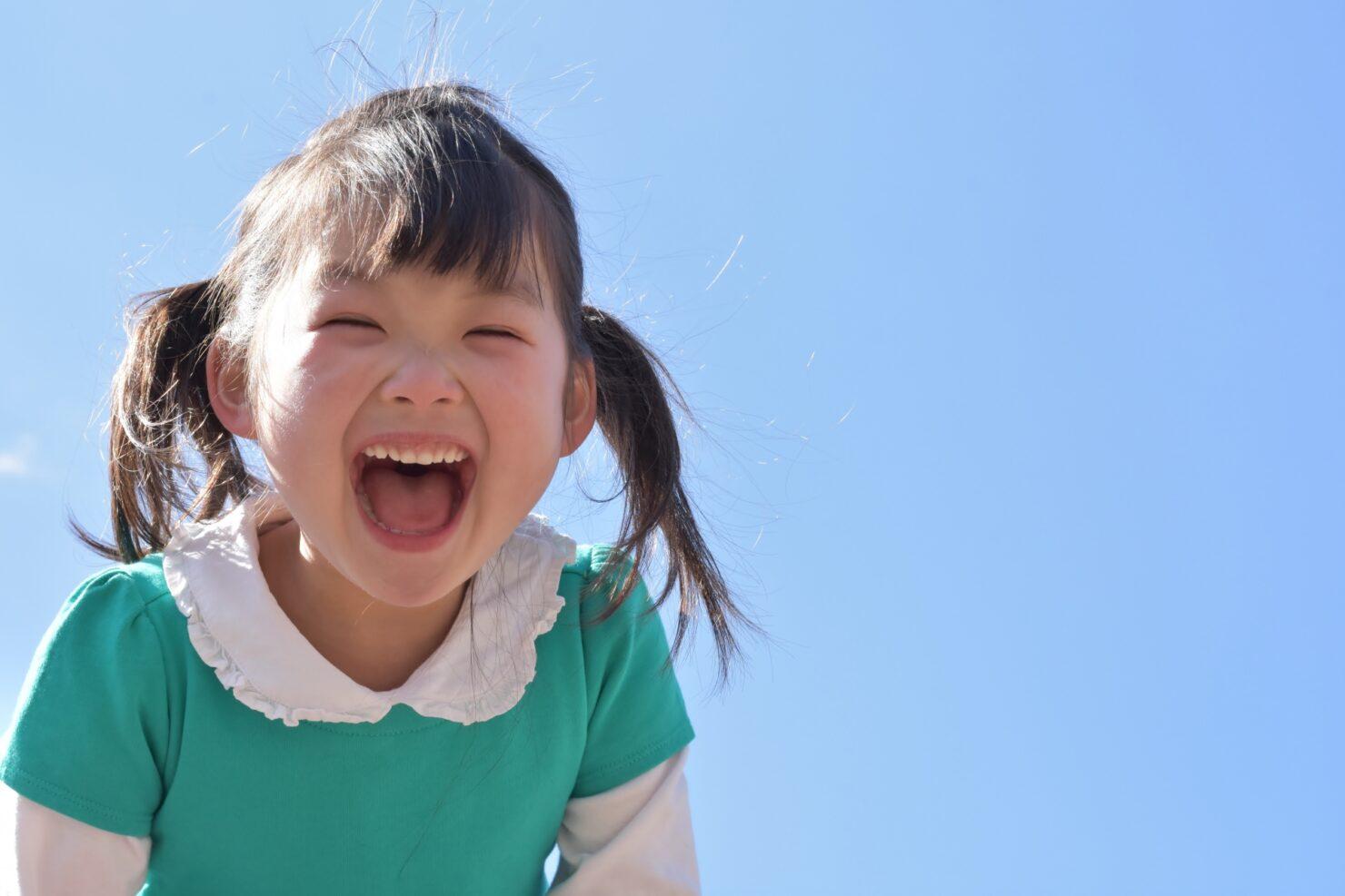 笑顔いっぱいの女の子